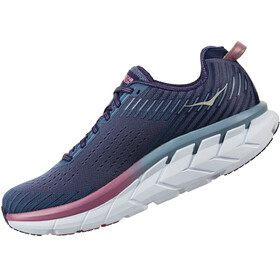 Hoka One One Clifton 5 Running Shoes Women marlin/blue ribbon